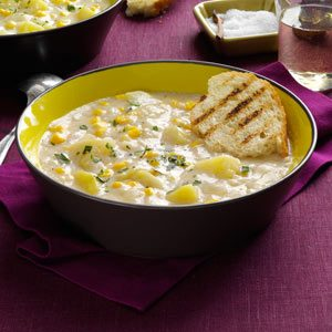 Quick Potato Corn Chowder Recipe