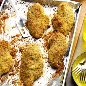 Crunchy-Herbed Chicken Breasts Recipe