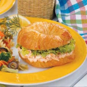 Salmon Dill Croissants Recipe