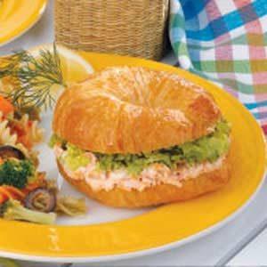Salmon Dill Croissants Recipe