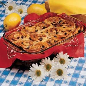 Chicken Little Cinnamon Rolls Recipe