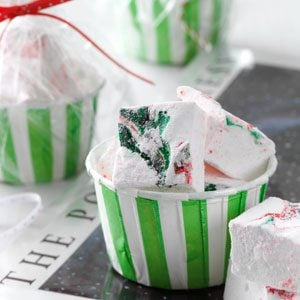 Swirled Peppermint Marshmallows