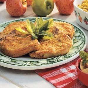 Breaded Dijon Pork Chops Recipe