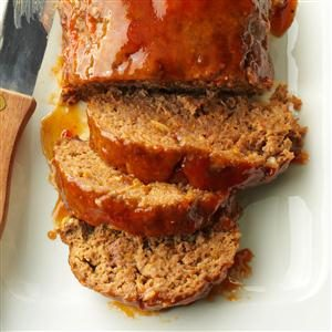 Sweet-and-Sour Meat Loaf Recipe