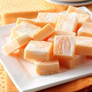 Marbled Orange Fudge