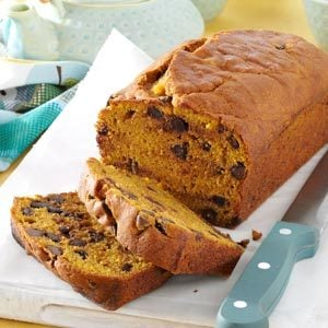 Contest-Winning Chocolate Chip Pumpkin Bread Recipe