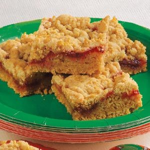 Contest-Winning Strawberry Jam Bars Recipe