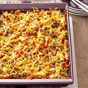 Sloppy Joe Veggie Casserole Recipe