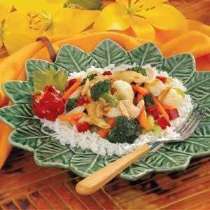 Almond Chicken Stir-Fry Recipe