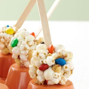 Sweet & Salty Marshmallow  Popcorn Treats Recipe