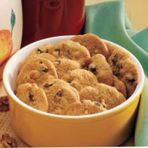 Cinnamon Raisin Cookies Recipe