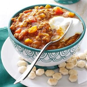 Autumn Pumpkin Chili Recipe