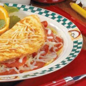 Pizza Omelet Recipe