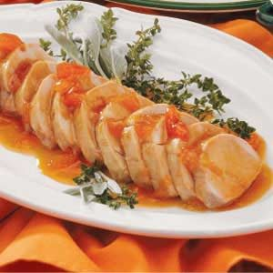 Pork with Apricot Sauce Recipe