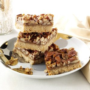 Honey-Pecan Squares Recipe