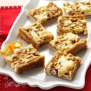 Orange Cashew Bars Recipe