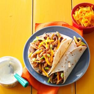 Busy-Day Chicken Fajitas Recipe