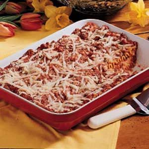Mom's Lasagna Recipe