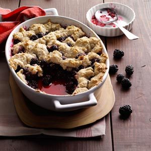 Summer Blackberry Cobbler Recipe