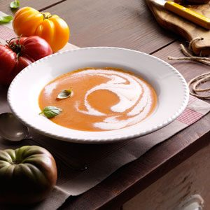 Heirloom Tomato Soup Recipe