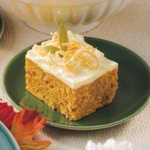 Pumpkin Orange Cake Recipe
