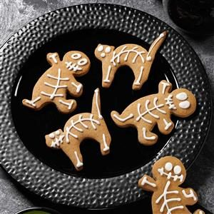 Gingerbread Skeletons Recipe