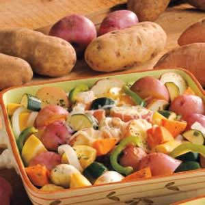 Grilled Vegetable Medley Recipe