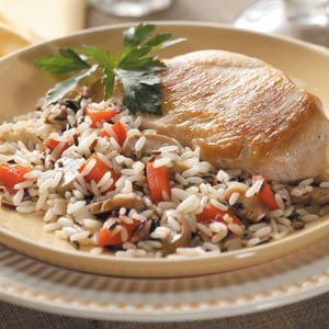 Wild Rice Mushroom Chicken Recipe