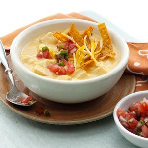 Makeover Chicken Enchilada Soup