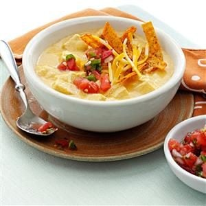Makeover Chicken Enchilada Soup Recipe