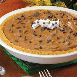 Chocolate Mousse Pumpkin Pie