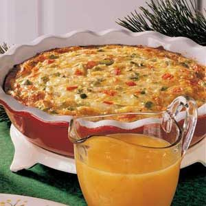 Christmas Morning Frittata Recipe
