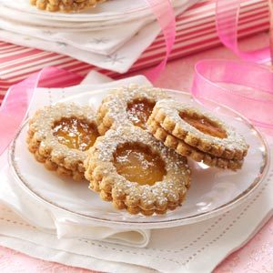 Orange-Marmalade Linzer Tarts Recipe