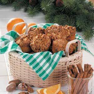 Crunchy Orange Muffins Recipe