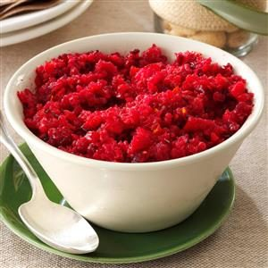 Fresh Ginger Cranberry Relish