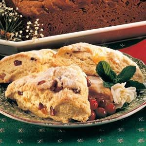 Cranberry Apricot Scones Recipe