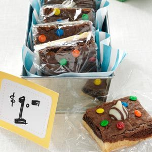 Angela's XOXO Shortbread Brownies Recipe
