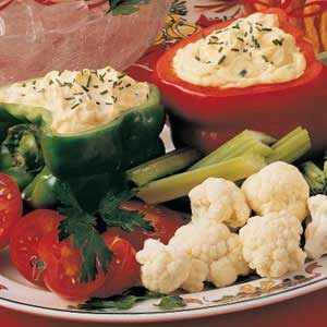Festive Vegetable Dip Recipe