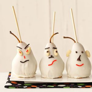 Ghost Caramel Pears Recipe