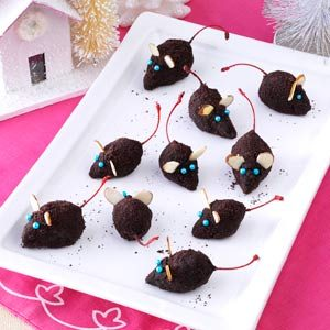 Christmas Mice Truffles