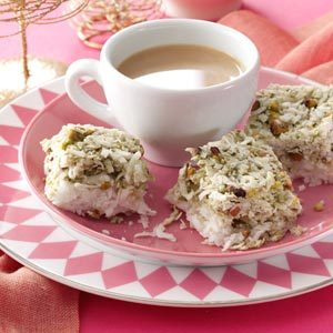 Pistachio Coconut Chews Recipe