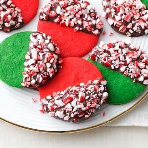 Peppermint Crunch Christmas Cookies Recipe