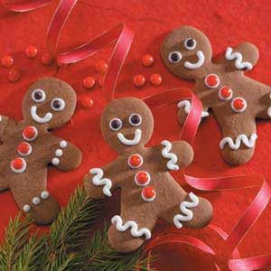 Gingerbread boys recipe taste of home for Home alone theme decorations