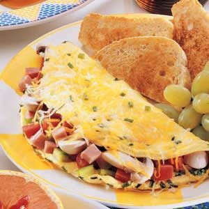 Deluxe Ham Omelet Recipe photo by Taste of Home
