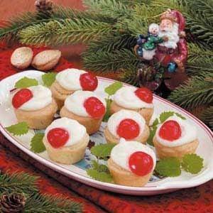 Miniature Almond Tarts Recipe