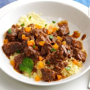 Spiced Lamb Stew with Apricots Recipe