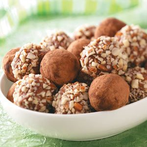 Easy Mint Chocolate Truffles Recipe