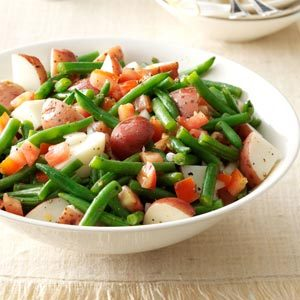 Warm Green Bean & Potato Salad Recipe