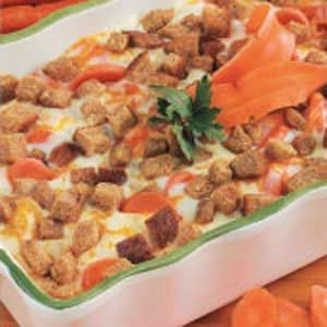 Scalloped Carrots Casserole Recipe