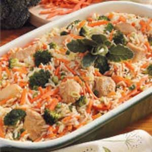 Chicken Carrot Fried Rice Recipe
